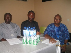 Pix 4.(l-r) Paul Bebenimibo, Welman Warri and Ghomorai Presidor